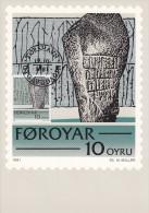 "FO 1981/84, 4 Stück ""Färöer - Maximumkarte Nr.: 1, 2, 10,11"" - Färöer Inseln"