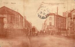 42 Roanne. Faubourg Mulsant, Passage à Niveau - Roanne