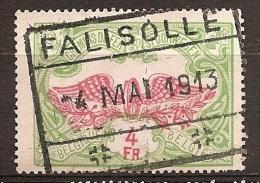 FED-0317    FALISOLLE      Ocb TR 45  Overlangse Plooi - Chemins De Fer