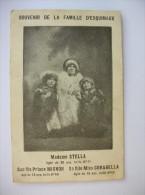 Souvenir De La Famille D'Esquimaux. Madame Stella Agée De 38 Ans Taille 0m 71. Sa Fille Corabella - Silhouettes