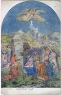 AK ENGEL ANGEL SIGNIERT KARTE : J.MANES, OLD POSTCARD 1921 - Anges