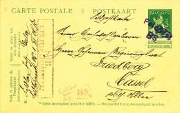 139/22 -  Entier Pellens Utilisé En Feldpost En 1914 - GRATOW Vers CASSEL - Esercito Tedesco