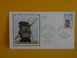 FDC- Moulin Des Flandres, Moulin à Vent  - 59 Steenvoorde - 12.5.1979 - 1er Jour, - FDC