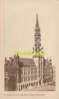 ANCIENNE PHOTO CDV CARTE DE VISITE ** VINTAGE PHOTO ** OUDE FOTO **  BRUXELLES BRUSSEL HOTEL DE VILLE - Antiche (ante 1900)