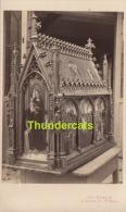 ANCIENNE PHOTO CDV CARTE DE VISITE ** VINTAGE PHOTO ** OUDE FOTO **  BRUGGE BRUGES CHASSE DE SAINTE URSULE - Antiche (ante 1900)