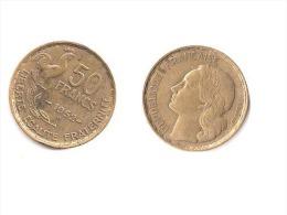 GUIRAUD  //  50 Francs 1952 B  //  état TTB - M. 50 Franchi