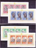 BELGIQUE - 1941 - OCCUPATION ALLEMANDE - Blocs Mi N° I/IV (*) -  COTE = 400 EUROS