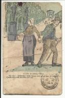 Au Champ D' Elizé , Vin T'en !... Jhésuzitat ! Thieu L'houm Nous Prend Peur De Pézants !... Y Nous Fait Vouer Son Thiu.. - Humour
