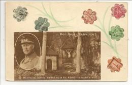 Marche-les-Dames - Endroit Où Le Roi Albert Ier A Trouvé La Mort - Carte Originale Constituée De Découpages Collés - Namur