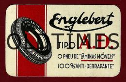 BELGIUM - ENGLEBERT PNEUMATIQUES - 1936 ADVERTISING OLD METAL CALENDAR - Calendars