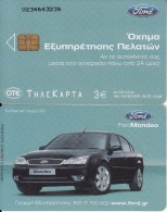 GREECE - Ford 3/Mondeo, Tirage 40000, 04/04, Used