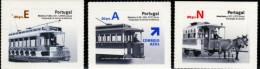PORTUGAL  2007  TRANSPORTES PUBLICOS URBANOS   URBAN PUBLIC TRANSPORT - Tramways