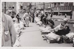Hongrie - Budapest - Marché Dans La Rue - Affiche Publicité Tabac - Hungary