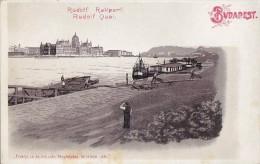 Hongrie - Budapest - Précurseur - Danube - Bâteaux Péniche - Hungary