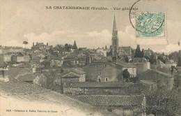 LA CHATEIGNERAIE - VUE GENERALE - PETIT PRIX - RARE CPA - - La Chataigneraie
