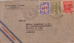 GUATEMALA - LETTRE AERIENNE POUR L´ALLEMAGNE  LE 4-7-1933. - Guatemala