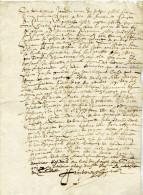 Francarville,Toulouse, Louis Treize Régnant, Figuier, Robert - Documents Historiques