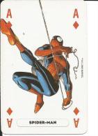 Carte De Jeu, Illustré Marvel Heroes / As De Carreau / Homme-araignée Spiderman / Personnage Fantastique - Cartes à Jouer Classiques