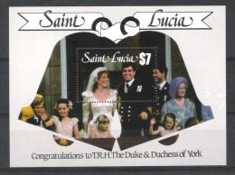 Saint Lucia Y/T Blok 49 (**) - St.Lucie (1979-...)
