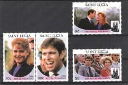 Saint Lucia Y/T 821 / 824 (**) - St.Lucie (1979-...)