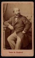 VERS 1870  VIEILLE PHOTO NOBLESSE - COMTE DE CHAMBORD - HENRI D'ARTOIS - DUC DE BORDEAUX - Photos