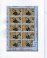 1997  -  N° 61  B.            FEUILLET    DE  10 TIMBRES