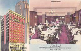 Hotel Bristol Pink Elephant Restaurant Bar and Lounge New York C