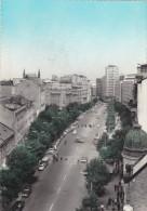 BELGRADE 1961,capitale De La Serbie,terazile,centre Ville,tram,avec Timbre Jugoslavija - Serbie