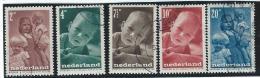 Nederland                 NVPH         495/499                   O                Gebruikt - 1891-1948 (Wilhelmine)