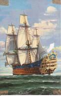 CPSM Vaisseau Fin Du XVIIe Siècle  (0824) - Segelboote