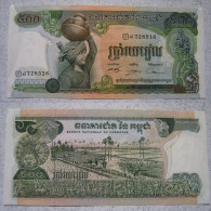 Kambodscha Banknote 500 Riels 1973 Sehr Schön !                         (BA 2) - Kambodscha
