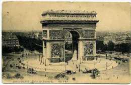 75 PARIS Arc De Triomphe  Début 20è S.  Animation  Aucun Véhicule à Moteur - Arrondissement: 16