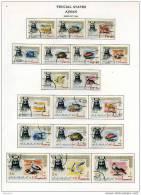 Ajman 1964  Série Définitive Oiseaux Et Animaux: Réguliers, Aérienne Et Officiels - Ajman