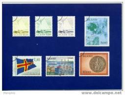 ALAND  Carte Postale Officielle  Premiers Timbres D'Aland 1er Mars 1984 Neuve - Stamps (pictures)