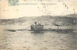 Militaria - Marine Militaire Française - ALOSE - Sous-Marin - Equipment
