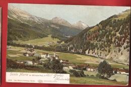 CDS3-16  Santa Maria Im Münstertal.  Pioneer. Feldpost 163 - GR Grisons