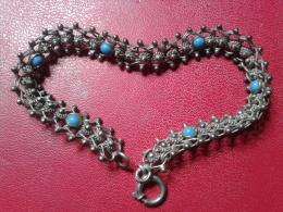ANCIEN BRACELET EN ARGENT - Bracelets