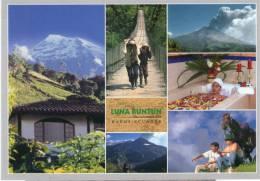 Lote PEP24,  Ecuador, Postal, Baños, Erupcion Volcan Tungurahua, Volcano, Postcard - Ecuador