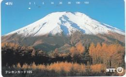 JAPAN - Volcano, 10/94, Used - Volcanos