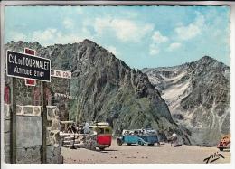 BUS AUTOCAR - COL DU TOURMALET - Le Sommet : Autobus D´époque (années 60 ) - CPSM CPM GF - Hautes Pyrenées - Buses & Coaches