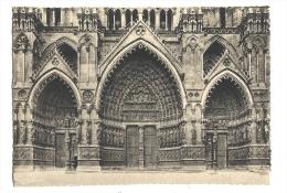Cp, 80, Amiens, La Cathédrale, Le POrtail - Amiens