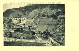 GIORNICO - Développement De La Ligne électrique Du St. Gothard - TI Ticino