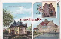 Allemagne Gruss Aus Russelsheim Villa Ad Opel Villa Hch Opel Fahrradhaus L S Klingelhofer - Ruesselsheim