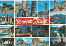 Souvenir Italie Various Assorted Views Da Fotocolor Kodak Ektachrome Fotorapidcolor Terni  Front & Back Shown - Italy
