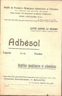 Agriculture-vigne-mildiou -adhesol-usine Beaucaire-montpellier - Publicités