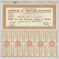 Laminoir Et Tréfilerie D'Afrique, Alger - Afrique