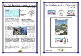 Planche Album Expo : France 1996 : 3019  Les Iles Sanguinaires Et Leur Phare - Afgedrukte Pagina's