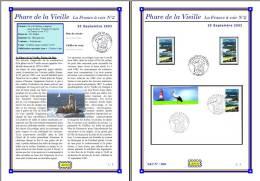 Planche Album Expo : France 2003 : 3601  Phare De La Vieille France à Voir N°2 - Afgedrukte Pagina's