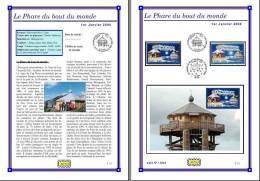 Planche Album Expo : France 2000 : 3294  Le Phare Du Bout Du Monde - Afgedrukte Pagina's