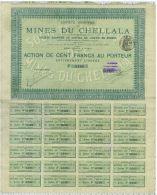 Sa Des Mines Du Chellala En Algerie - Mines